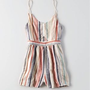 f344ddc6ac0 American Eagle Outfitters Other - American eagle striped romper